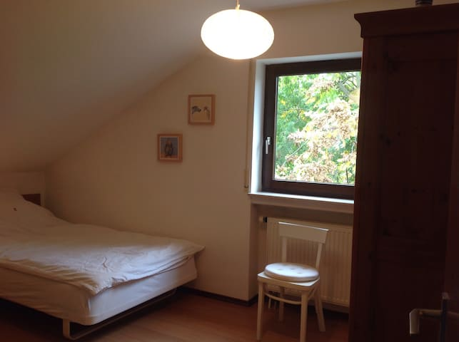 Chambre calme et cosy. Quiet and cosy room - Frankfurt am Main - House