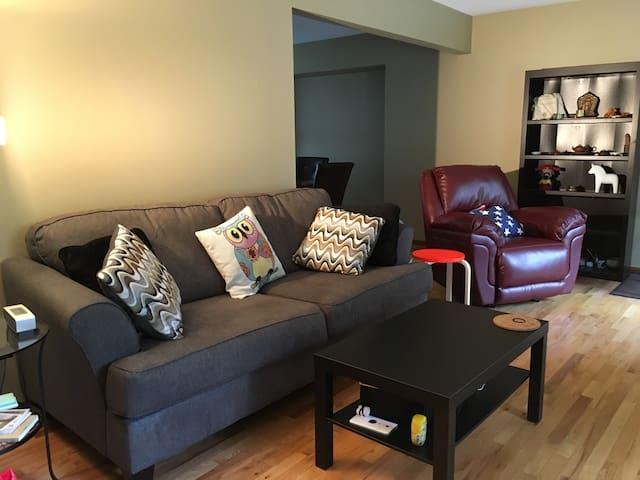 近曼大的温馨房间 - Winnipeg - Apartmen