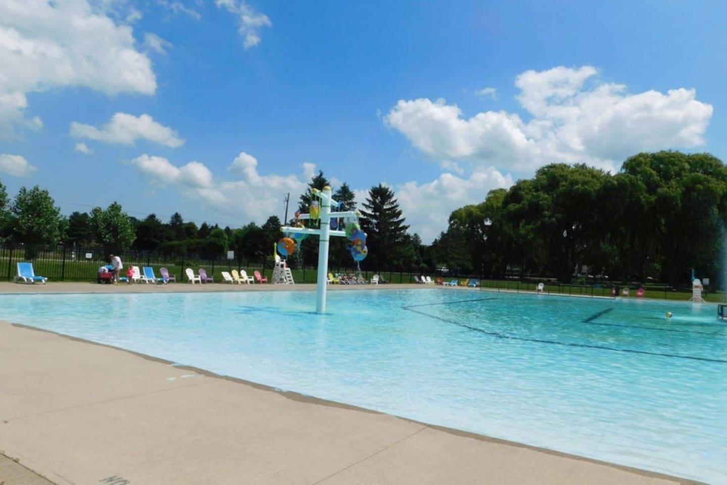 40,000 square foot pool!
