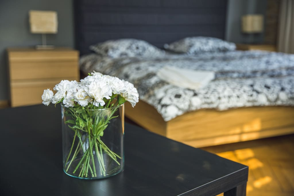 We carefully designed the apartment for comfortable stay