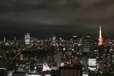 Best Tokyo Panoramic View in Minato! Tamachi sta. - Minato-ku