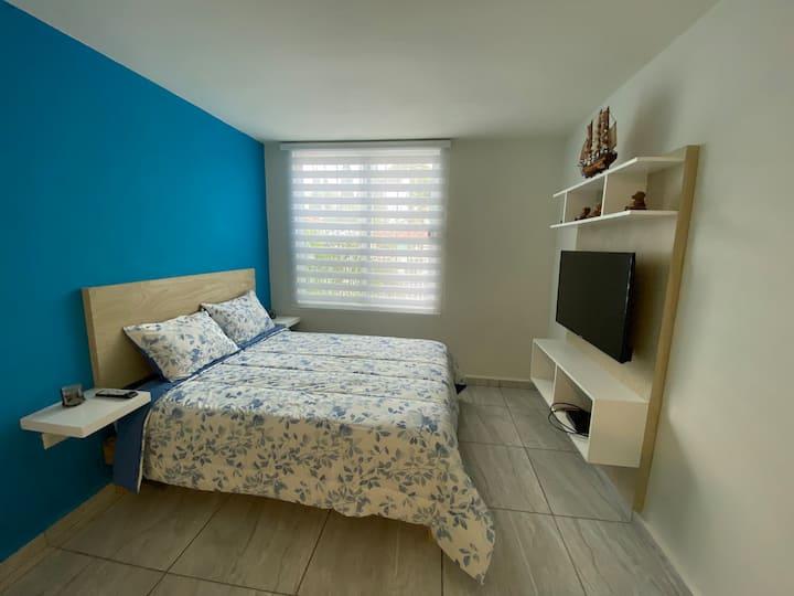 """La casa bonita, """"Isla Mujeres Studio"""""""