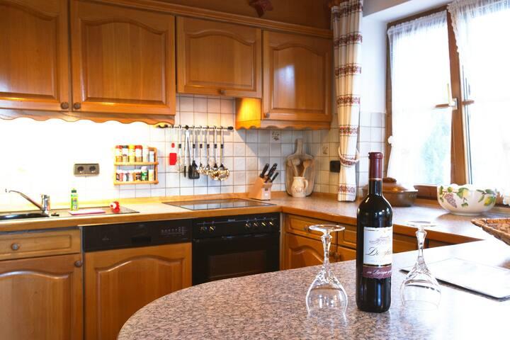 Haus Käser - Ferienwohnung Alpenrose - Immenstadt im Allgäu - Condominium