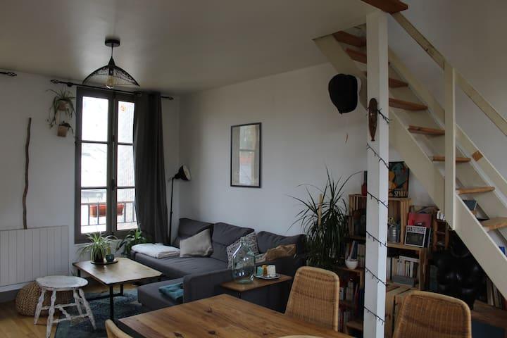 Cosy flat  - Saint Ouen / Montmartre