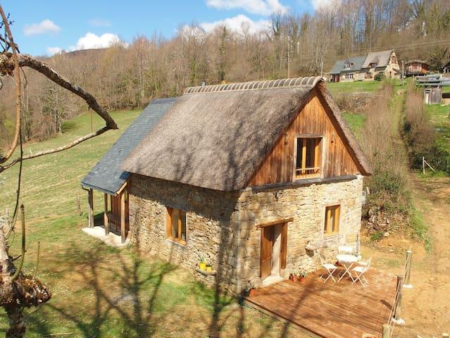 """""""Quélébu Grange"""" gite / retraite dans le Couserans - Aleu - House"""