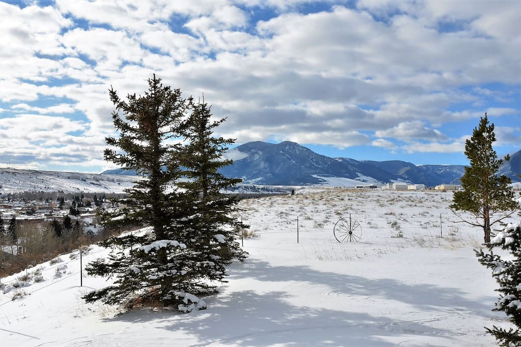 Winter activities are fun at the Spruce Lodge