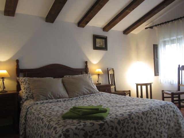 Finca Vegana guest room no2 with en suite bathroom - Bocaleones - Bed & Breakfast