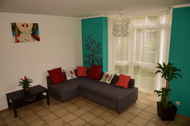 Comfy apartment close to Cologne Fair/Airport - Rösrath - Appartement