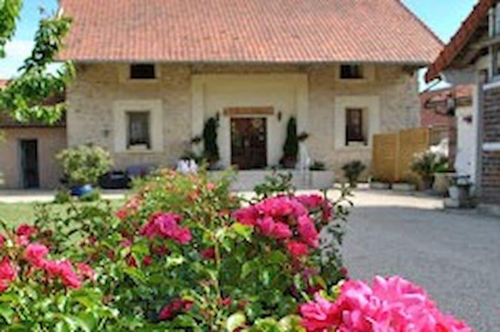 La Besace chambres d'hôte et table (Reims et Laon)