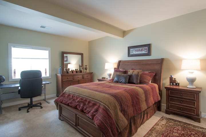 Prv furnished basement/bed & bath near DC/Quantico