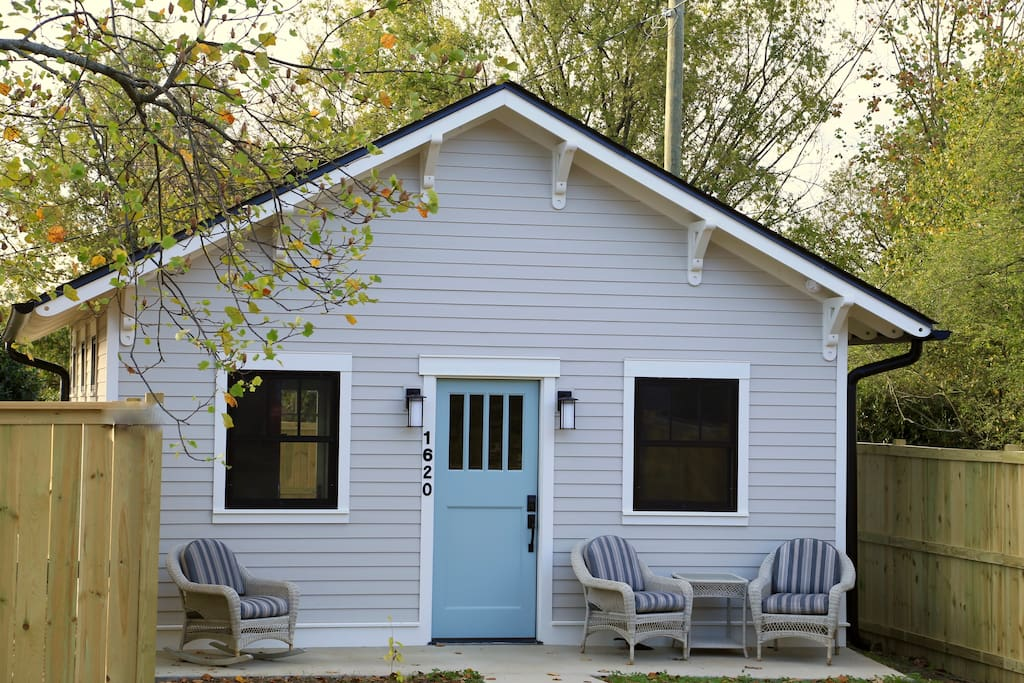 Your private cottage in the heart of East Nashville. Designed for your comfort. Brand new construction. Nashville Rental Permit # 2016059690.