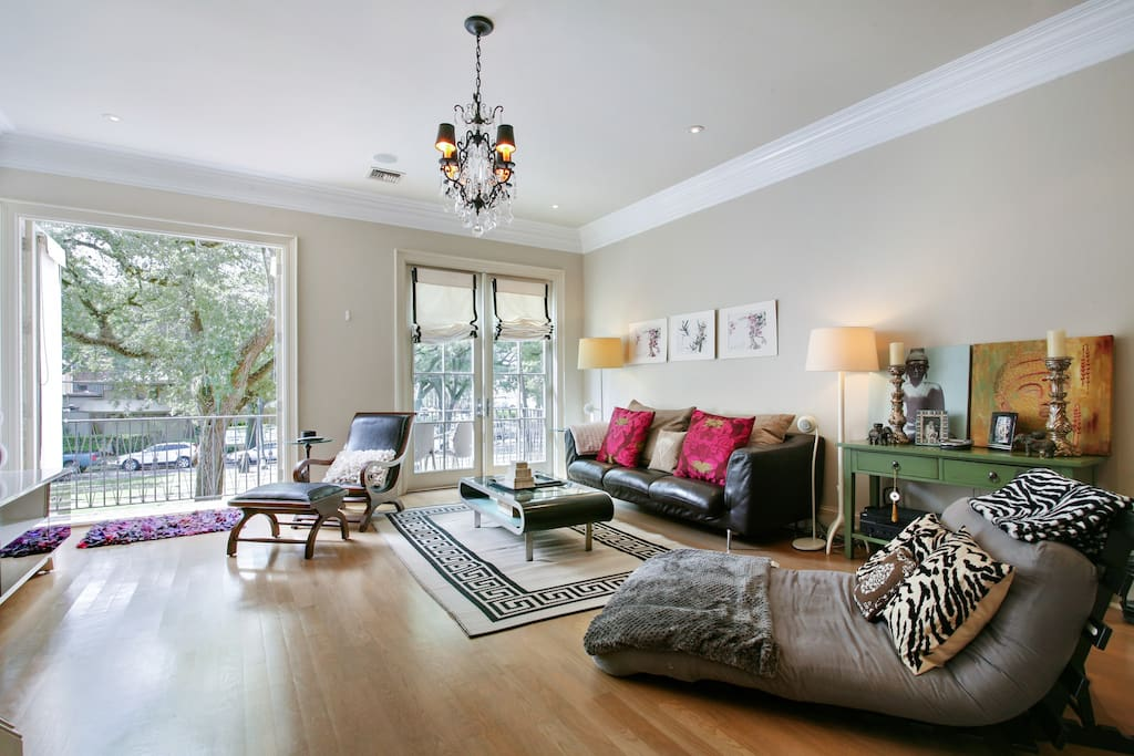 St charles ave 3 private bedrooms baths townhouses 3 bedroom houses for rent in new orleans