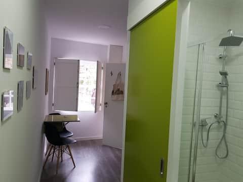 Historical center, Green Studio Box