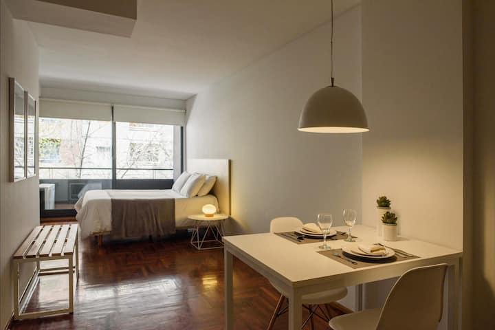 Diseño y confort, Sanatorio Allende y Guemes A-122
