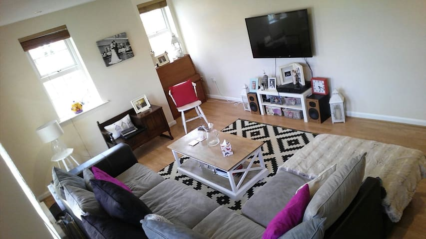 Large Luxury Ground Floor Apartment - Glengormley - Apartamento