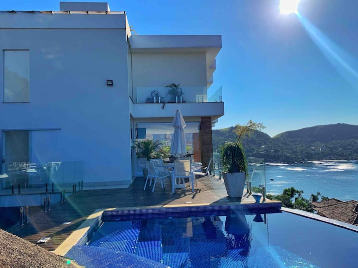 vista magnifica para ilha grande,um paraiso !!!!!!