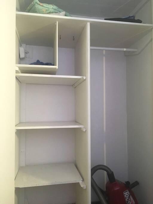 Closet pieza huésped