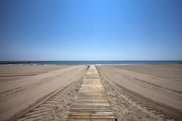 Puzol Beach I - Puçol - บ้าน