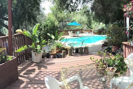 *Canyon home 5 min from Rose Bowl - Altadena - Hus
