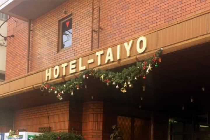 Osaka Hotel Taiyo private single room