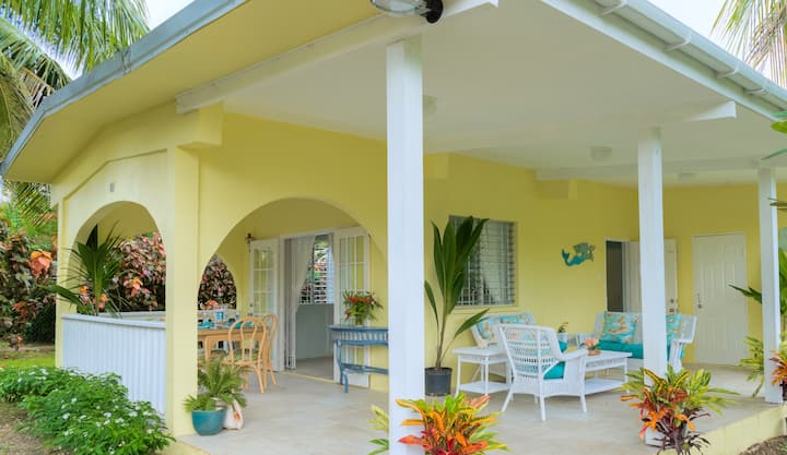 Lovely 2bdrm house in Holetown, close to beach