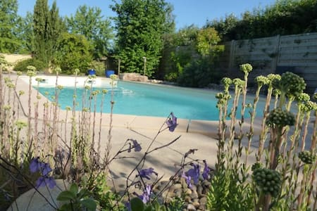 belle maison avec piscine - Dracy-le-Fort - 獨棟