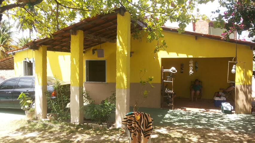Casa de Praia do Cajueiro em Flecheiras - CE - Mundaú - Дом