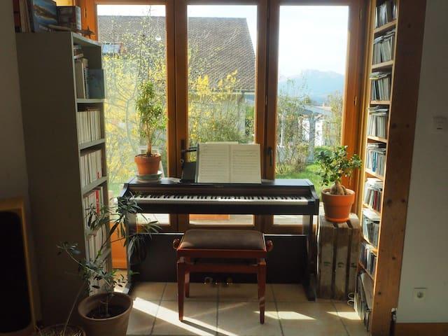 Maison familiale lumineuse et au calme - Roissard - Casa