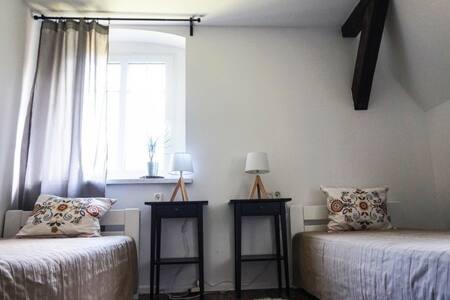 Parkowa 2 - Pokój wrzosowy - Świeradów-Zdrój - Bed & Breakfast