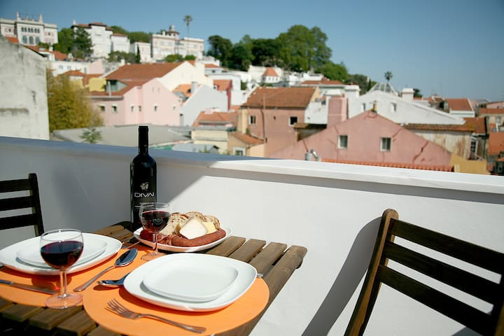 NEW! Comfortable. Modern. With terrace. Downtown - Lisboa