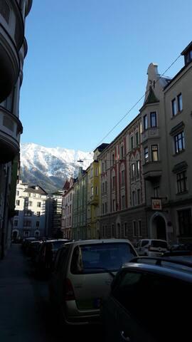 Gemütliches Zimmer - zentrale Lage - Innsbruck - Appartement