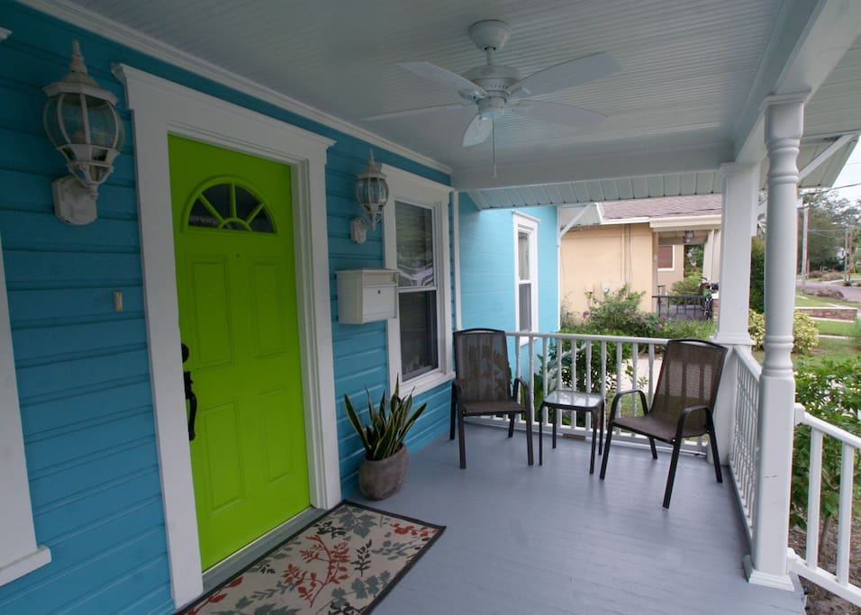 Front Porch Seating