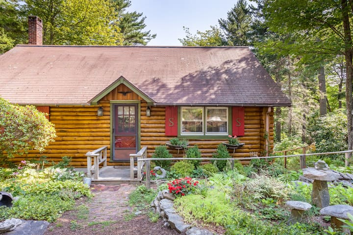 Sunny Brae, Modern Sprucewold Log Cabin With Beach - Boothbay Harbor - Sommerhus/hytte