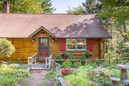 Sunny Brae, Modern Sprucewold Log Cabin With Beach - Boothbay Harbor - Cabin
