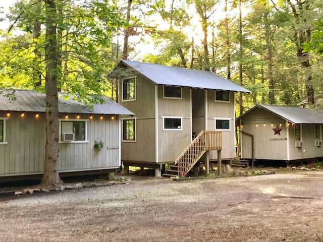 Quarter Mile Cabin - Room #6   Hiker Hostel