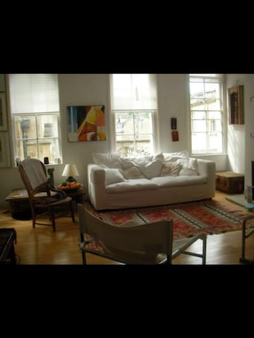 Apartment overlooking Bath Abbey ...(Central Bath) - Avon - Apartamento