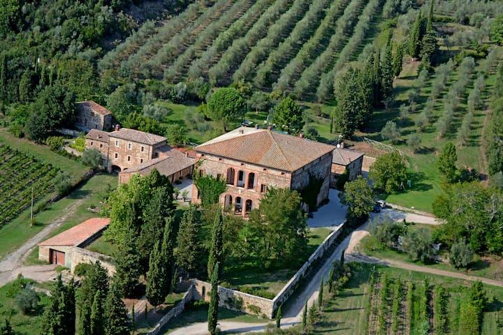 Villa Buoninsegna - Colombaia - Rapolano Terme - Departamento
