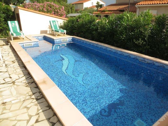 Confortable villa tout proche de Perpignan