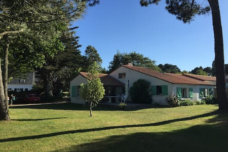 Maison calme Quimiac Vue Mer, accès direct plage - Mesquer - Casa