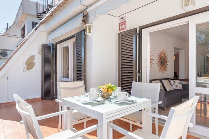 "Holiday Apartment ""Tomeu Mercuri"" with Balcony, Air Conditioning & Wi-Fi; Parking Available"