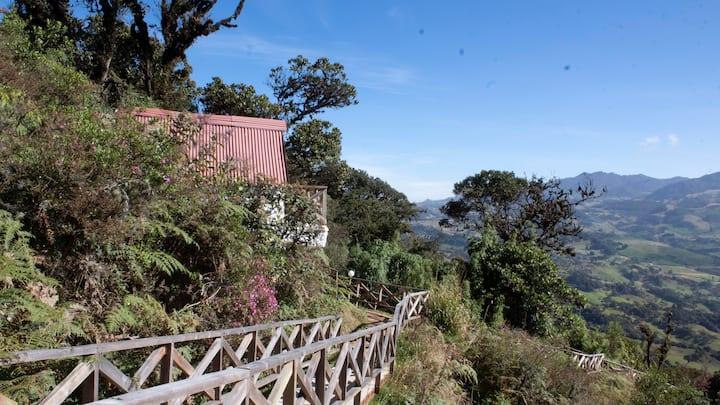 Cabaña Xiu Lluvia, Alto Andino
