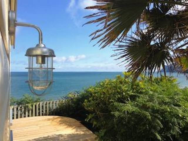 Panoramic Sea Views, Private, Luxury Beach Chalet - Nefyn