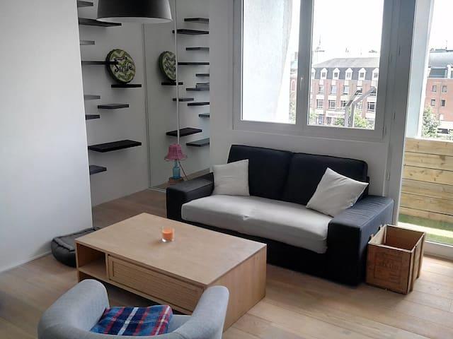 3 pièces agréable et lumineux en hyper centre - Douai - Appartement