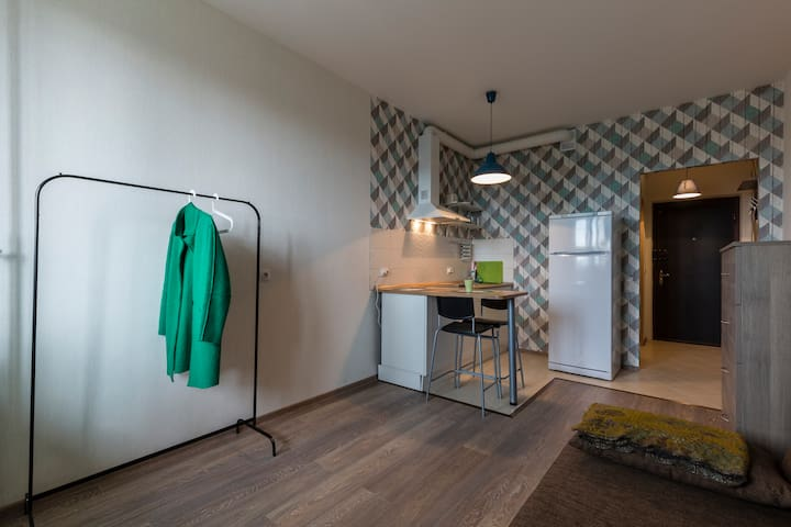 Cosy apartment next to metro - Murino - Apartment