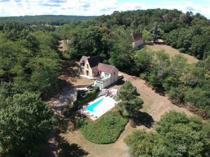 Belle maison avec piscine privée et chauffée
