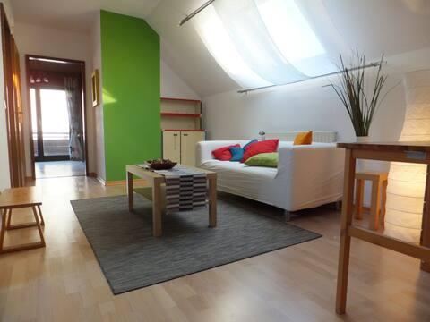 Helle und gemütliche Wohnung in ruhiger Umgebung