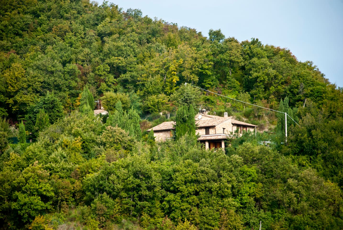 Calmancino delle Selve - view of the houses