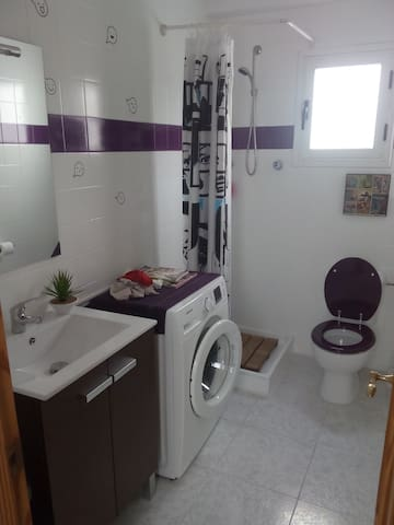 Baño y ducha de invitados