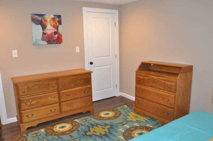 Bedroom 2 with king bed