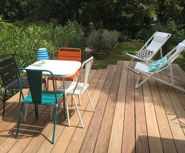 Maisonnette Ramatuelle, terrasse, piscine, parking - Ramatuelle